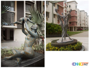 outdoor modern sculpture
