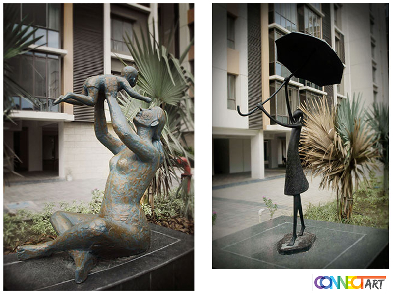 Different Types of Metal Sculptures for Indoors and Outdoors