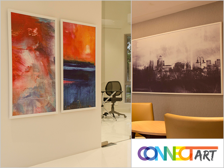 Office Wall Design Artwork