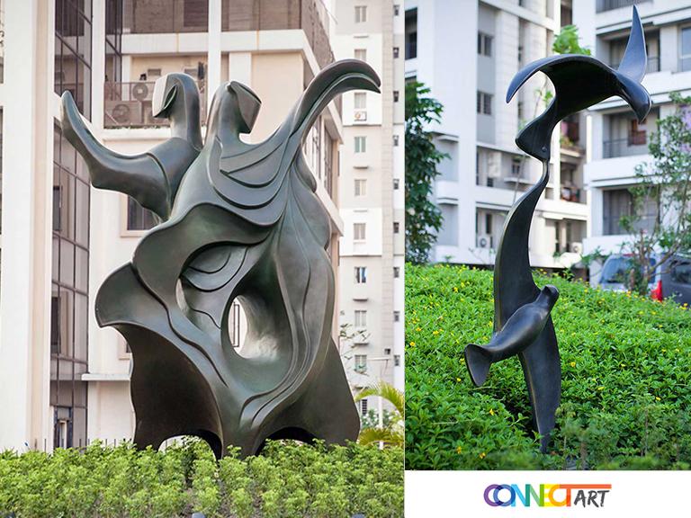 outdoor garden sculpture