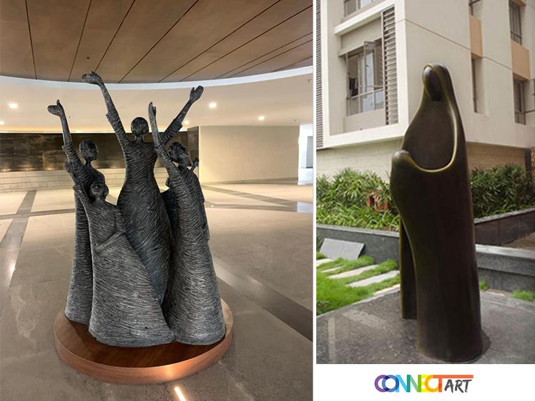 garden fiberglass sculpture